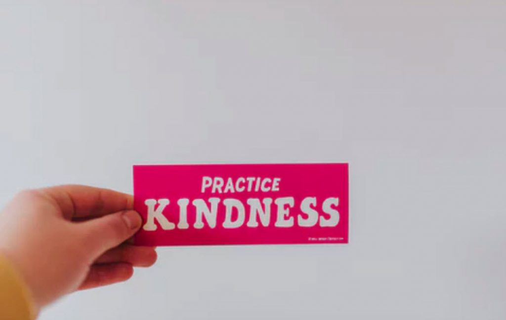 Practice kindness to gradually root out bitterness.