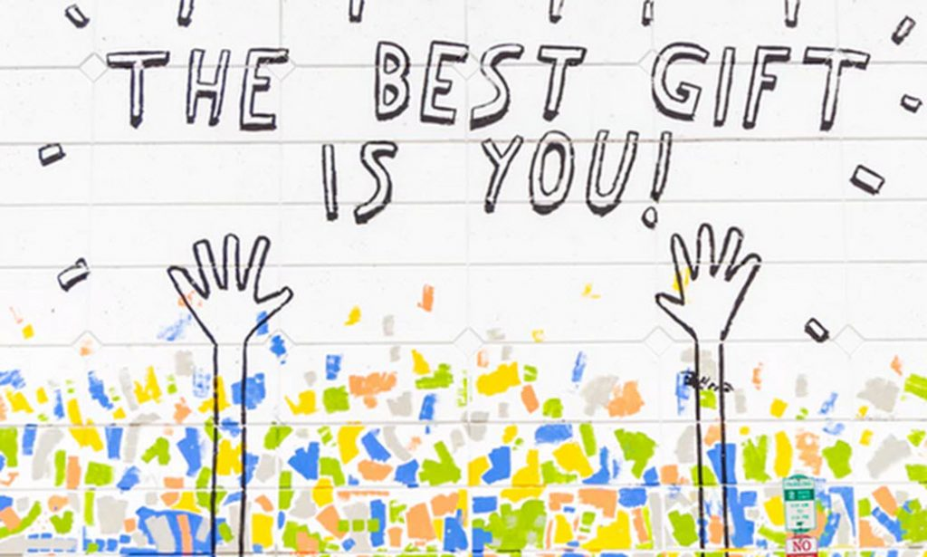 What is self-esteem when the best gift is you?