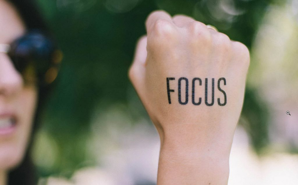 What motivates you is your ability to stay focus.