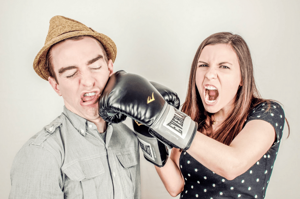 Combative nature is a sign of low emotional intelligence.