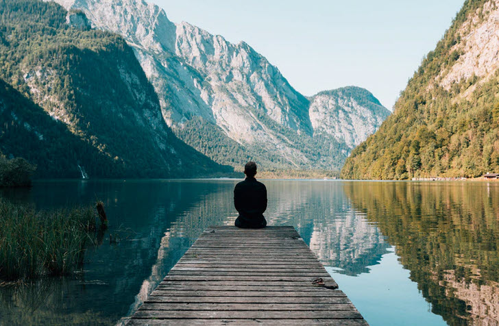 An  introspection journey examines thoughts and feelings by creating quiet space.