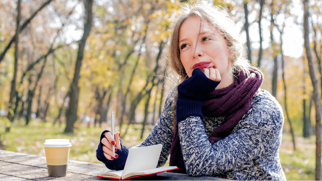 Ease worry, harness journaling as a solution.