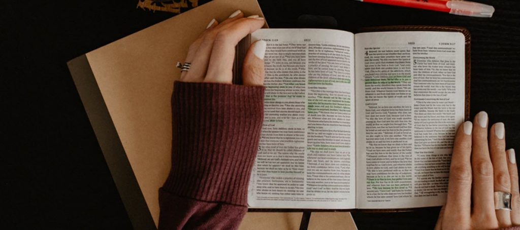 Read the Bible to support the soul.