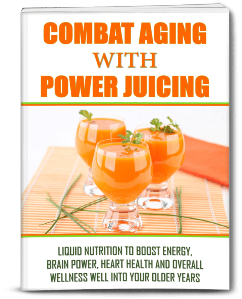 Combat Aging with Power Juicing.