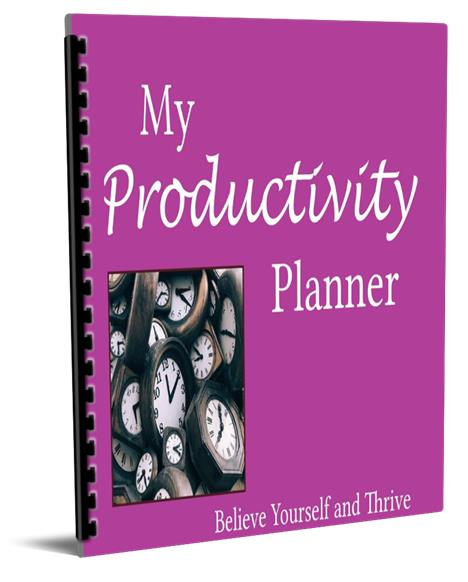 Productivity Planner is a time saver.