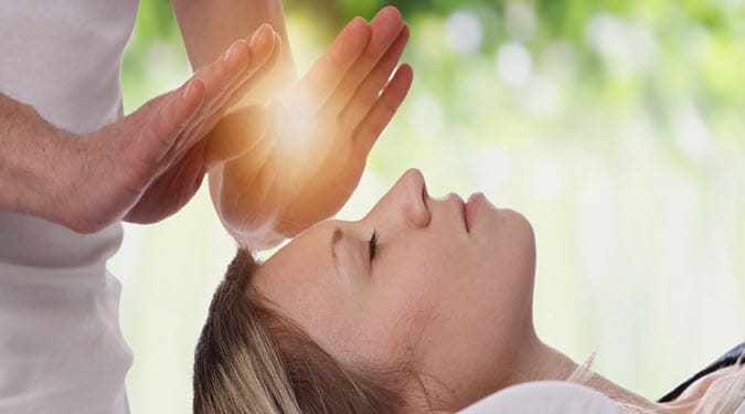 Healing energy can be used for self-care.